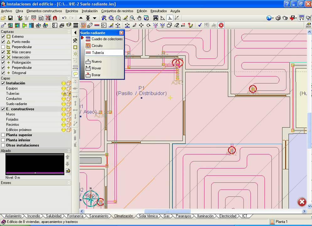 Instalaciones del edificio climatizaci n suelo radiante - Calefaccion en el suelo ...