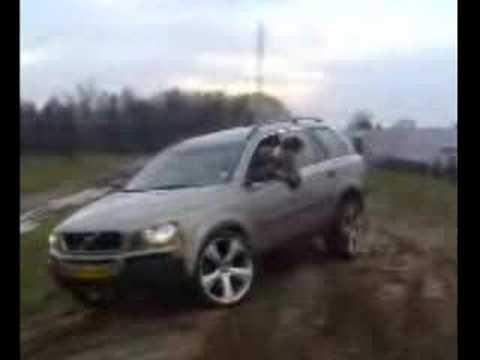 volvo xc90 wheel lift downhill - YouTube