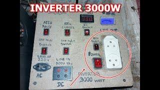 Video cara bikin inverter sederhana 12v dc to 220v ac 3000watt download MP3, 3GP, MP4, WEBM, AVI, FLV Oktober 2018