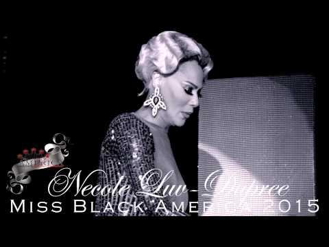 Miss Black America 2015 - Necole Luv-Dupree