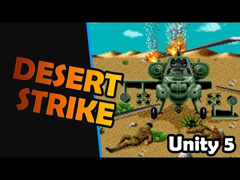 Unity Game Engine : Desert Strike Style Game