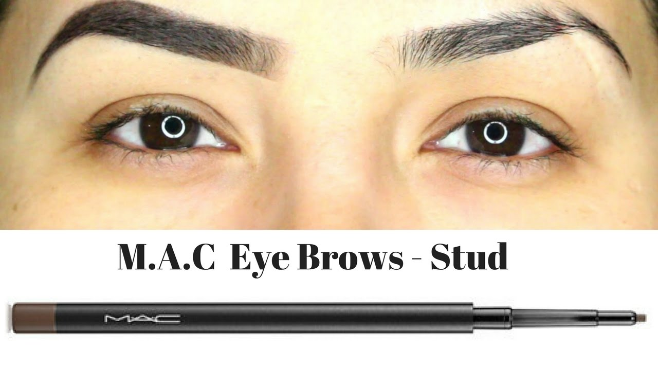 Mac Eye Brows Shade Stud Eyebrow Pencil Review Demo Youtube