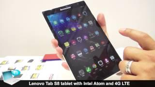 Lenovo Tab S8 tablet Intel Atom 4G LTE