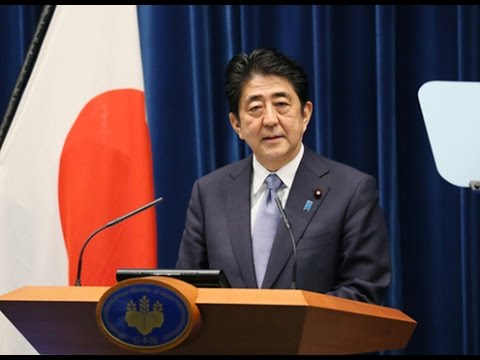 Press Conference by Prime Minister Shinzo Abe (August 14, 2015)