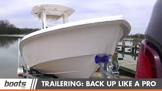 How to Back a Boat Trailer Like a Pro