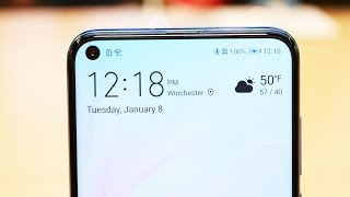 Huawei Nova 4 HANDS ON - with hole in screen + 48 MP triple cam!