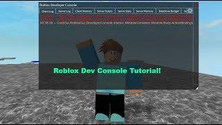 Dev-Konsole-Tutorial! Roblox