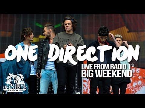 One Direction - Radio 1's Big Weekend, Glasgow 2014