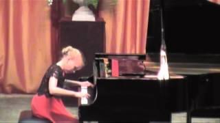 Л В Бетховен опус 2 Соната 1 фа минор 1 часть исполняет Меньшикова Софья