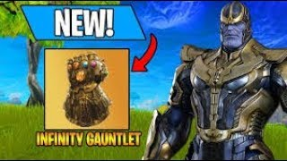 THANOS IN FORTNITE FIRST EVER LOOK!!! (6 KILLS)