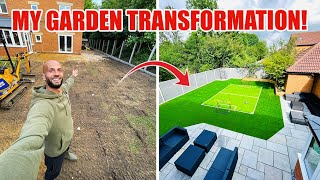 TRANSFORMING MY GARDEN! | THE PERFECT FOOTBALL...