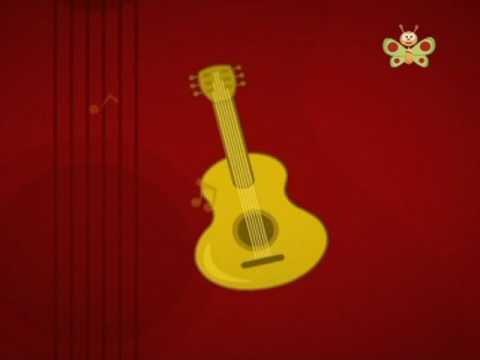 BabyTV Louie's world musical instruments english