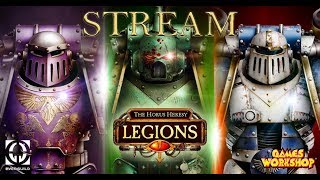 СТРИМ ПО The Horus Heresy: Legions