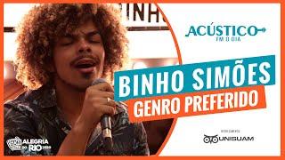 Binho Simões - Genro Preferido (Acústico FM O Dia)