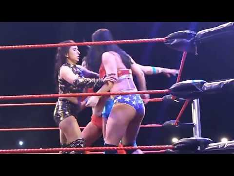 Woman wrestling in India. thumbnail