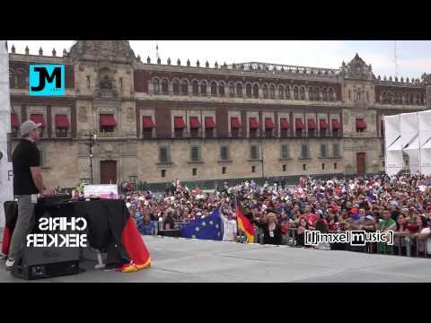 FCA | Chris Bekker | TRANCE LIVE Concert | @ Zócalo Mexico City GERMANY