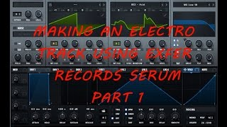 Making an Electro track using