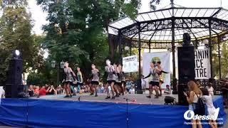 Odessa1.com - Фестиваль степа в Горсаду