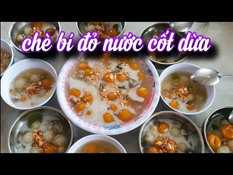 THD-340 Chè Bí Đỏ Nước Cốt Dừa Miền Tây
