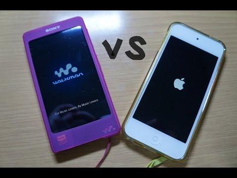 検証 DSEE HXの効果とは?~ Walkman vs iPod touch 第5世代~ レビュー