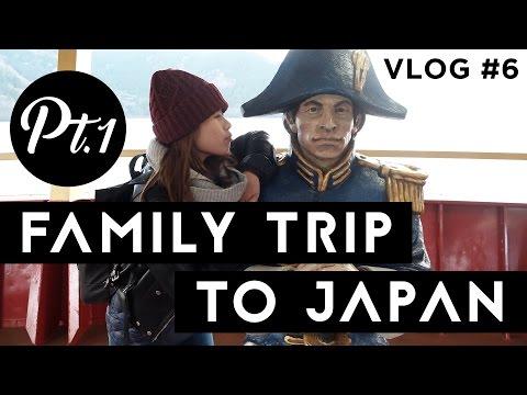 First Family Trip to Japan | Culinary in Tokyo | Disneyland | Hakone | Gala Yuzawa | VLOG #6