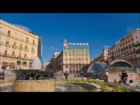 Places to see in ( Madrid - Spain ) Puerta del Sol