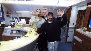 The Backstreet Boys fly the Emirates A380 | Emirates Airline