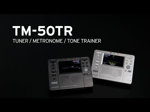 KORG TM-50TR - TUNER / METRONOME / TONE TRAINER