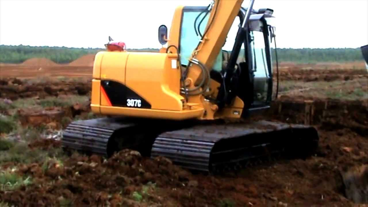 cat equipment caterpillar 307 excavator used youtube. Black Bedroom Furniture Sets. Home Design Ideas