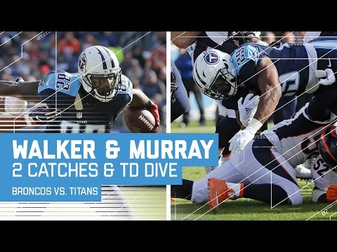 Marcus Mariota Hits Delanie Walker Twice & DeMarco Murray