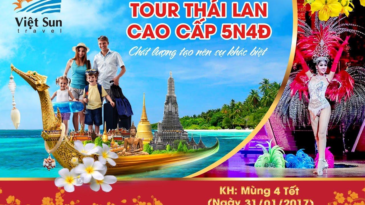 Viet.Sun.Travel.: Tour du lịch Thái Lan cao cấp - chất lượng khác biệt, chỉ có tại Việt Sun