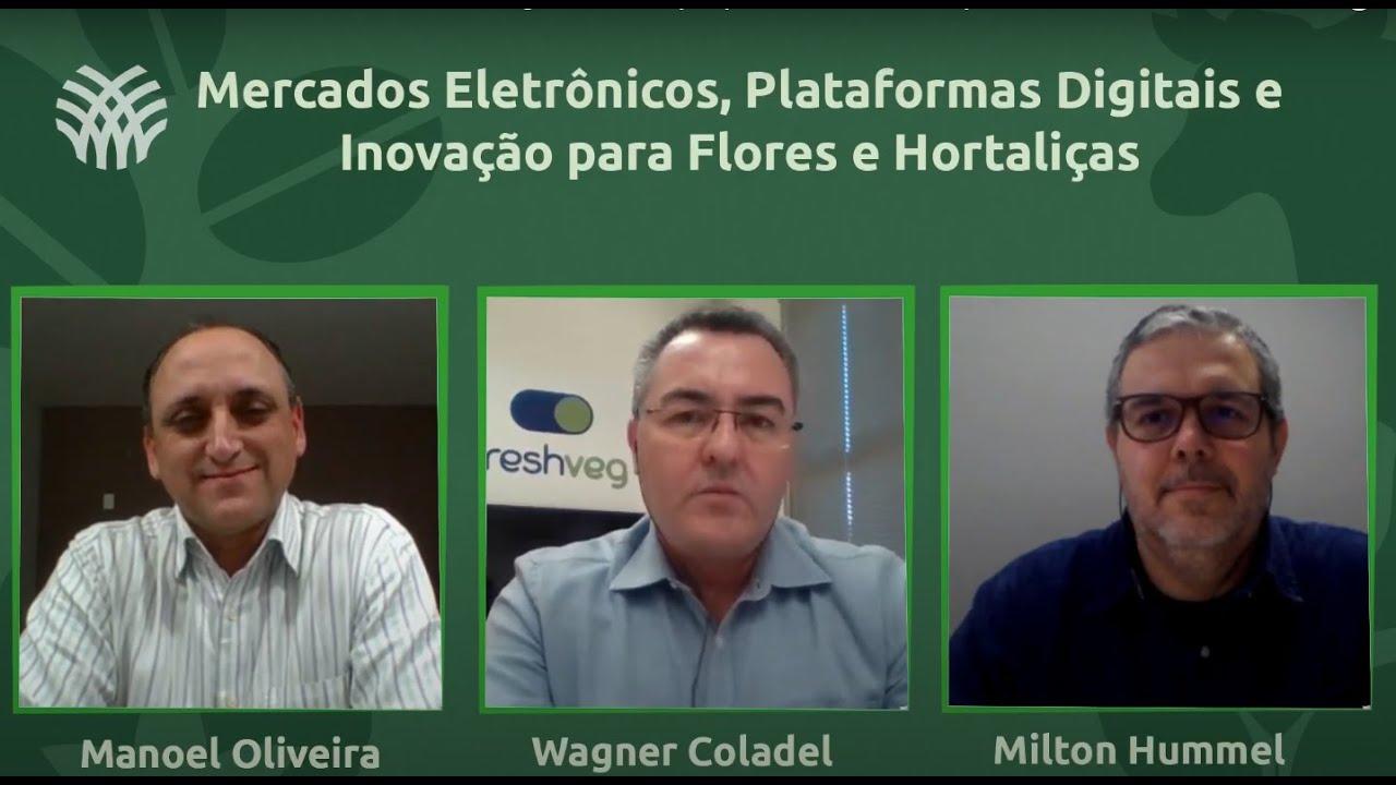 Live - Mercados Eletrônicos, Plataformas Digitais e Inovação para Flores e Hortaliças
