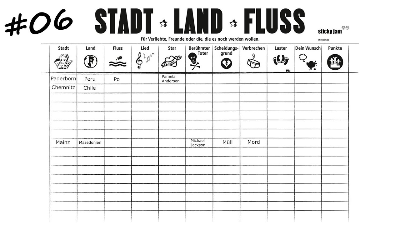 Stadt Land Fluss Alternative