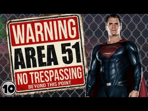 Top 10 Alien Superheroes Who Belong In Area 51