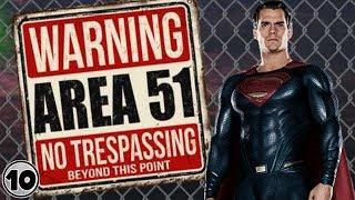 Top 10 Alien Superheroes Who Belong In Area 51