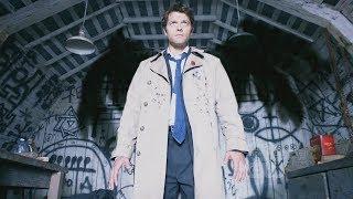 Первое появление Кастиэля. Я Ангел Божий! (Сверхъестественное 4 сезон 1 серия)