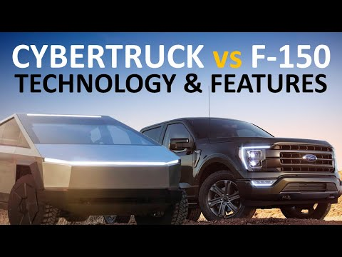Tesla Cybertruck vs 2021 Ford F-150: How Does Ford\'s Newest Truck Compare to Tesla\'s Truck?