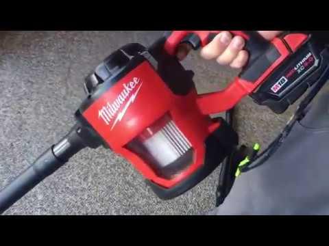 Demo Milwaukee 0882 20 M18 Cordless Compact Vacuum