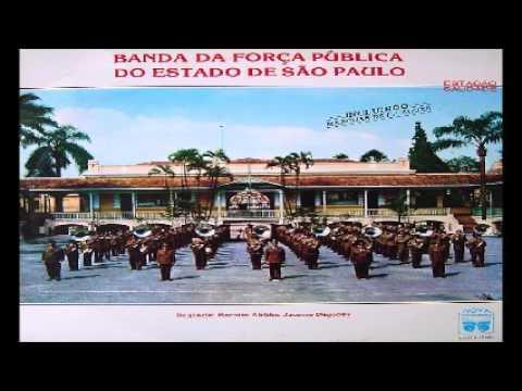 Banda da Força Pública do Estado de São Paulo - Marchas - Disco Completo