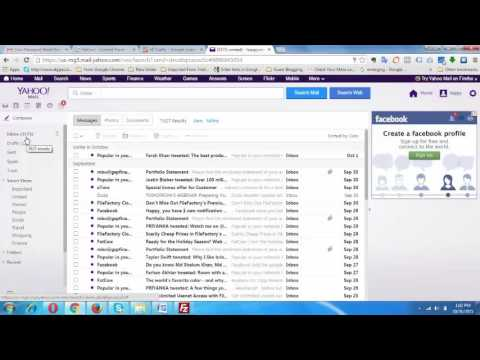 How to Delete All Emails from Yahoo Inbox