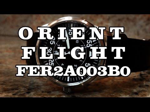 Orient Flight FER2A003B0 - Review, Measurements and Lume