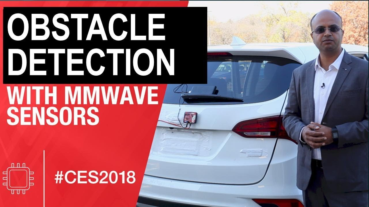 Obstacle detection sensor demo using TI's mmWave sensor