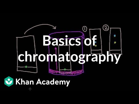 Basics of chromatography | Chemical processes | MCAT | Khan Academy