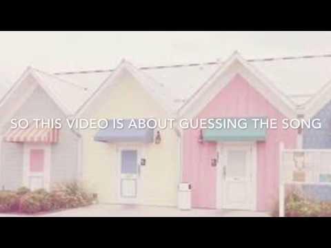 Kpop guessing game (BTS,EXO,MONSTA X,SEVENTEEN)