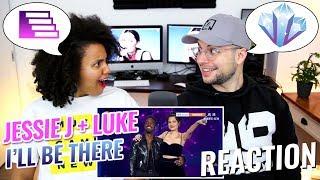 Jessie J & Luke James – I'll Be There | Episode 14 | Singer 2018 | REACTION