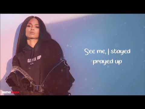 Ciara - Level Up ( Lyrics Video )