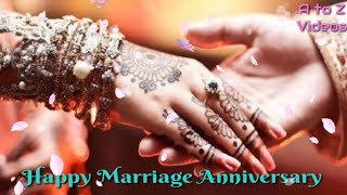 Happy marriage anniversary whatsapp status video | by royal feel
