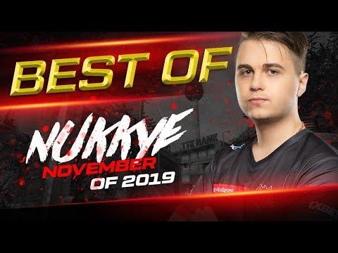 Best of nukkye November of 2019 / HellRaisers CSGO, esports