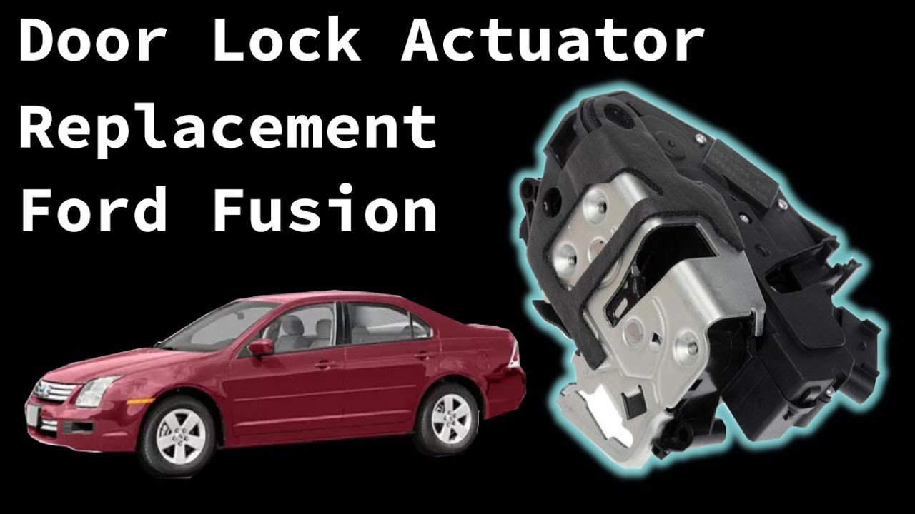 2006 Ford Fusion Door Lock Actuator Door Latch Assembly Replacement Youtube