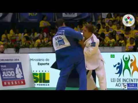 Judo 2013 World Championship Rio de Janeiro: Pietri (FRA) - Tchrikishvili (GEO) [-81kg] final